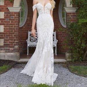 Mori Lee Wedding Dress 2026 Ivory/Ivory